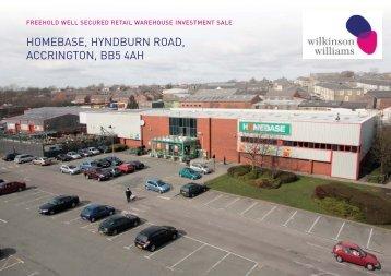 CWY042 Homebase Accrington - Wilkinson Williams