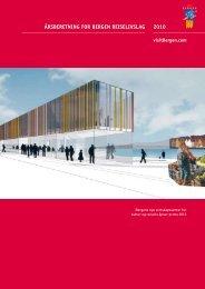 kikk på den siste Årsberetningen for Bergen Reiselivslag - visitBergen