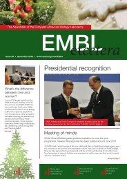 Presidential recognition - EMBL Grenoble