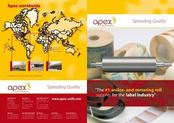 'Spreading Quality' 'Spreading Quality' - Apex-groupofcompanies.com