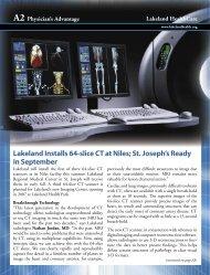 Lakeland Installs 64-slice CT at Niles; St. Joseph's Ready in ...