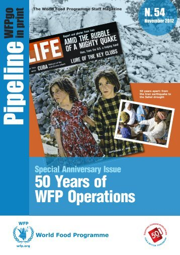 Pipeline 50 Years - WFP Remote Access Secure Services