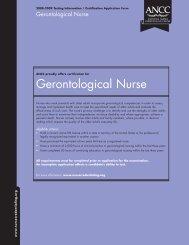 Gerontological Nurse