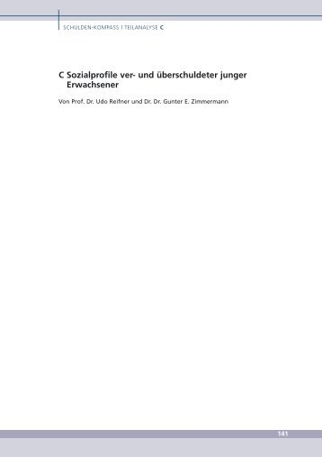 Sozialprofile junge Erwachsene (PDF, 3.5 MB) - SCHUFA-Kredit ...