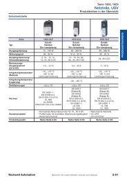 Komponenten-Katalog Netzteile