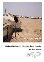 Bericht Shousha - Borderline Europe