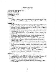 Curriculum Vitae - Island County Government