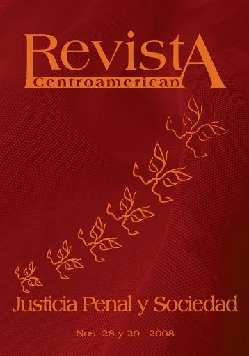 Revista Centroamericana Justicia Penal y Sociedad - Organismo ...
