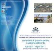 Invito Aipo 11 Luglio 2011 - Agenzia Interregionale per il fiume Po