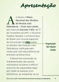 Cartilha - Viver sem Limite - Portal Ceará Inclusivo - Page 7