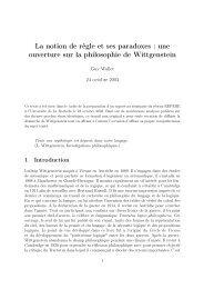 La notion de règle et ses paradoxes : une ouverture sur la ...