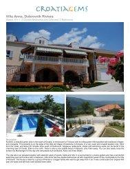 Villa Anna, Dubrovnik Riviera - Croatia Gems