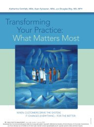 Transforming Your Practice: What Matters Most - Internet Solutions ...