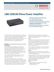 LBB 1935/20 Plena Power Amplifier - SourceEN54.EU