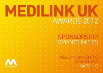 Sponsorship Opportunities - MedilinkWM.co.uk CDN