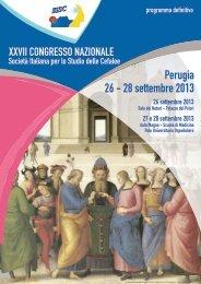 programma 2013 versione online - Sisc