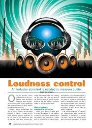 Loudness Control - PDF - Aspen Media.