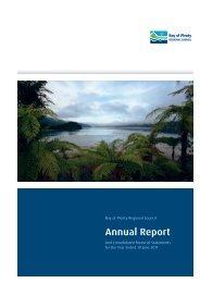 Annual Report - Bay of Plenty Regional Council