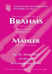 sa., 03. märz 2012 19.30 uhr schlosstheater fulda - Städtischer ...