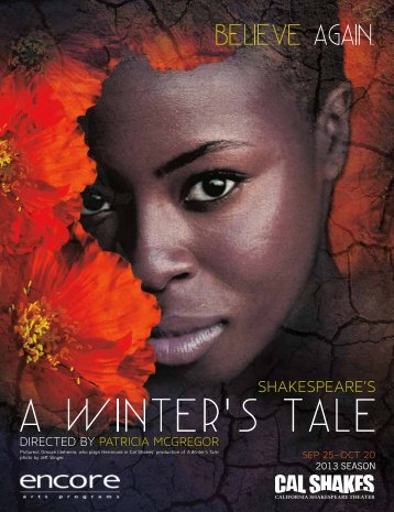 Read or download the A Winter's Tale program. - California ...