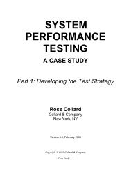 SYSTEM PERFORMANCE TESTING A CASE STUDY  Part 1