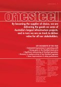 2002 Annual Review - OneSteel - Page 3