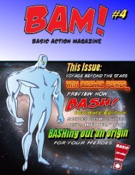 BAM #4 - Basic Action Super Heroes