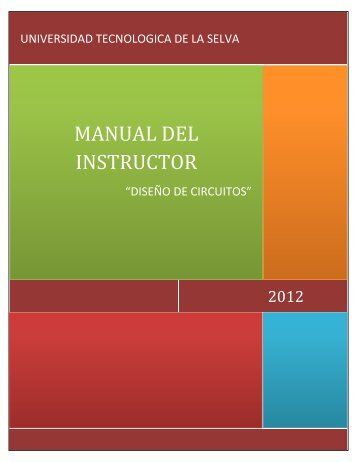 manual del instructor circuitos - Universidad Tecnológica de la Selva