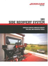 Jerr-Dan Side Recovery System - Twin State Equipment