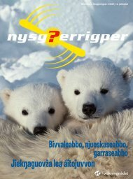 Jiek aguovža lea áitojuvvon - Nysgjerrigper