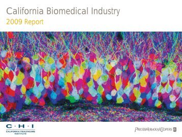 California Biomedical Industry - California Healthcare Institute