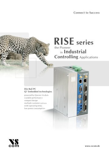 RISE series - Visionsystems (de)