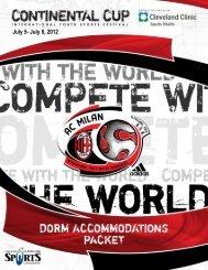 tournament rules and regulations - AC Milan Junior Camp