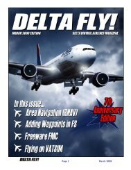Page 1 March 2008 - Delta Virtual Airlines