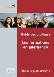 Les formations en alternance - Université de Rennes 1