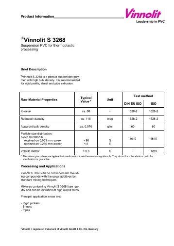 Vinnolit S 3268