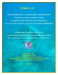 WORK PLAN - Center for Coastal Monitoring and Assessment - NOAA
