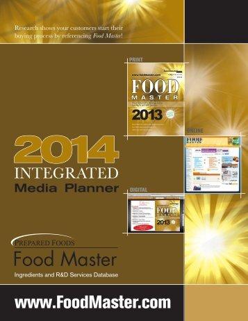 2014 FM PF Media Kit - Food Master