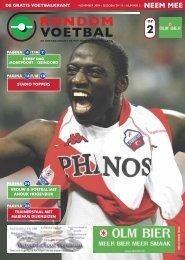 seizoen 2009/2010 nummer 2 - Rondom Voetbal