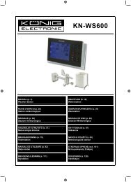 KN-WS600 - Sun Electronics