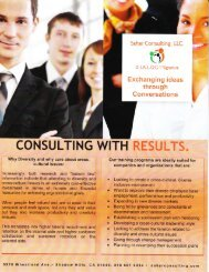 Our services - Sahar Consulting