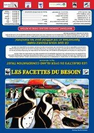 LES FACETTES DU BESOIN - Dyer Island Conservation Trust