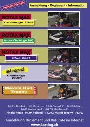 Ausschreibung (PDF) - Karting.ch