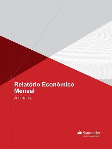 Relatório Econômico Mensal - Portal de Investimentos
