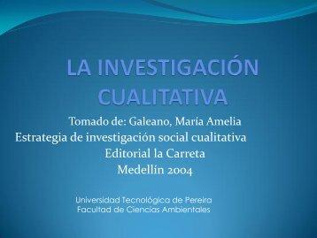 Una metodología - Métodos de Investigación Interdisciplinaria