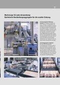 Keilzinkenanlagen Turbo-S Standards und Optionen - Weinig - Seite 5