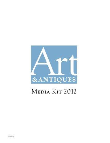 Media Kit 2012 - Art & Antiques Magazine