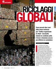 Riciclaggi Golobali, l'inchiesta di febbraio 2012 de La Nuova Ecologia