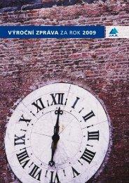 výroční zpráva za rok 2009 - JKR