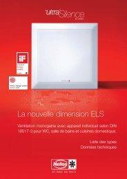 La nouvelle dimension ELS - Helios Ventilatoren AG